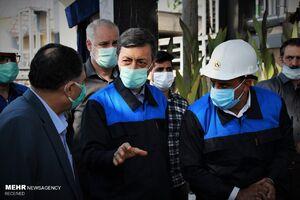 عکس/ افتتاح سومین خط تولید کارخانه صنعتی دوده توسط فتاح
