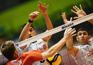 نوجوانان والیبال ایران روی سکوی سوم جهان