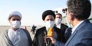 ادای احترام رئیس جمهور به شهدای مدافع امنیت در چابهار