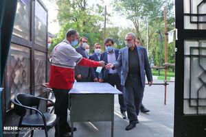 عکس/ سفر وزیر بهداشت به اردبیل
