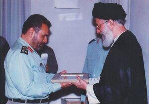 دستخط تقدیر فرمانده کل قوا از سرلشکر فیروزآبادی +عکس