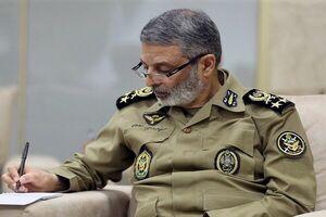 پیام فرمانده کل ارتش در پی درگذشت سرلشکر فیروزآبادی