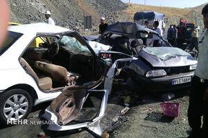 حادثه خونین رانندگی در شهرستان مرند/ ۳ نفر کشته شد