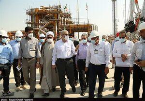 بررسی طرحهای صنایع پارس جنوبی با حضور وزیر نفت به روایت تصویر