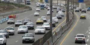 خروج ۳۰۰ هزار خودرو از تهران در آخر هفته