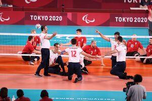 فیلم/ جشن قهرمانی تیم ملی والیبال نشسته ایران