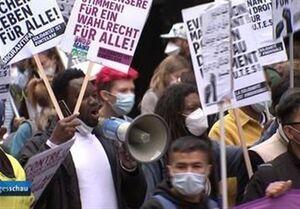 تظاهرات هزاران آلمانی در اعتراض به فاجعه افغانستان