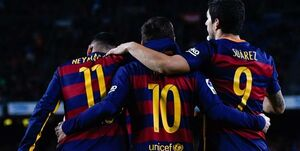 خطرناکترین مثلث های هجومی فوتبال اروپا +عکس