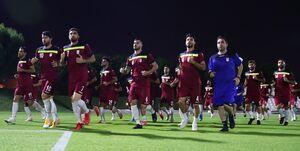 نخستین تمرین تیم ملی فوتبال در قطر برگزار شد