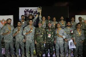 تیم نیروی زمینی ارتش قهرمان مسابقات بینالمللی «اربابان سلاح» شد