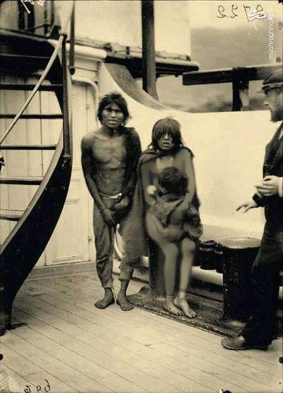 انتقام اروپاییها از بومیان شیلی در باغ وحشهای انسانی+عکس