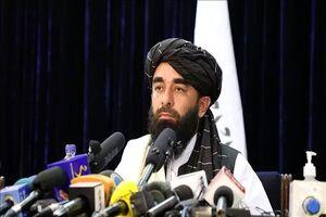 سخنگوی طالبان ذبیح الله مجاهد