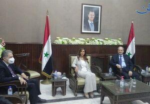 استقبال نمایندگان پارلمان سوریه از سفر هیئت لبنانی به دمشق