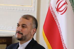 پیام وزیر خارجه افغانستان به امیرعبداللهیان - کراپشده