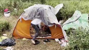فیلم/ بیخانمانی جوانی تحصیل کرده در لنگرود