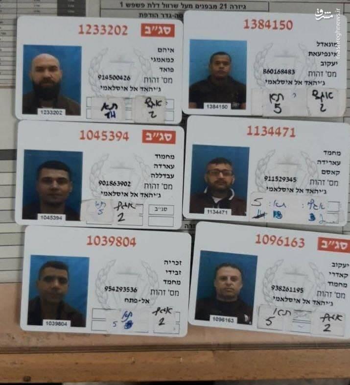 خاک تونل کنده شده در زندان صهیونیستی جلبوع کجاست؟