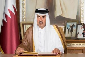 وزیر کشور سعودی با امیر قطر دیدار کرد
