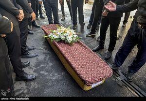 عکس/ مراسم تشییع پیکر حاج محمد خجسته باقرزاده
