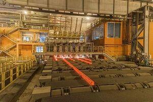 تولید فولاد ایران ۱۰ درصد افزایش یافت