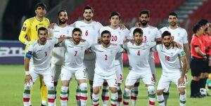 ترکیب تیم ملی فوتبال برای دیدار با عراق