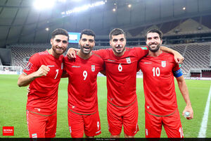 عکس/ پیروزی پرگل تیم ملی ایران برابر عراق