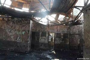 ۱۱۳ کشته و زخمی بر اثر آتش سوزی در یک زندانهای اندونزی
