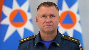 وزیر موقعیت های اضطراری روسیه جان باخت