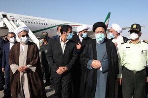 فیلم/ صحبتهای رئیس جمهور در بدو ورود به طبس