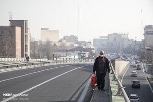 کیفیت هوای تهران کاهش یافت