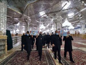 عکس/ تشییع پیکر مطهر دو شهید مدافع حرم در مشهد