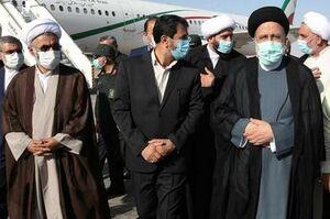 رئیس جمهور بیرجند را به مقصد تهران ترک کرد