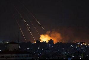 شلیک بیش از ۱۰ موشک از غزه به سرزمینهای اشغالی/ گنبد آهنین فعال شد