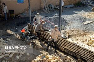 عکس/ اردوی جهادی در روستای ورچه
