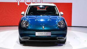 عکس/ رونمایی از خودرو تمام الکتریکی چینی