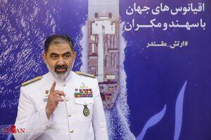 فرمانده نداجا: در حوزه پیشران موتور تمام ساخت ایرانی طراحی شده است