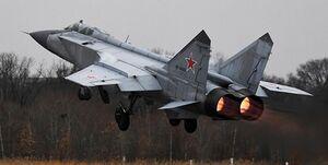 رهگیری هدف هوایی از سوی «میگ-۳۱ روسیه» بر فراز بارنتس