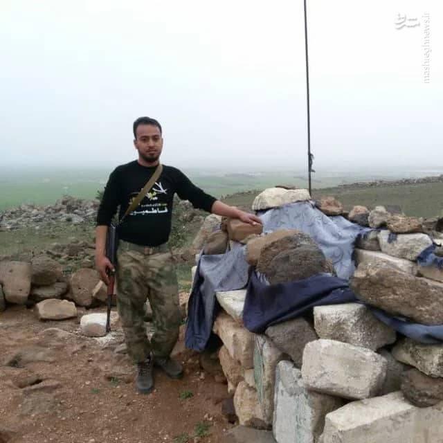 خدمات شیمیایی پدر شهید مدافعحرم در دوران جنگ!