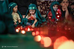 عکس/ مراسم عزاداری شهادت حضرت رقیه(س)