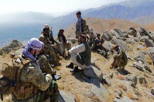 تصاویر نیروهای احمد مسعود در کوههای هندوکش