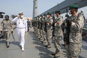 آئین استقبال از ناوگروه ۷۵ نیروی دریایی ارتش جمهوری اسلامی ایران