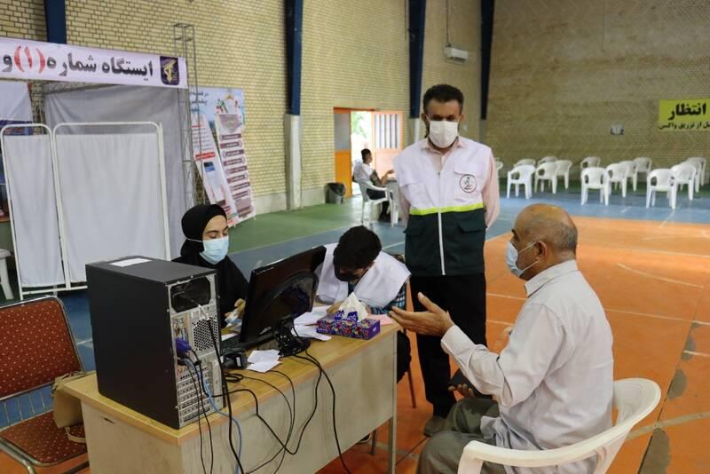 چند درصد تهرانیها واکسینه شدند؟