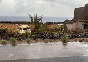 عکس/ طوفان در ایتالیا چند کشته برجا گذاشت