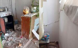 اولین تصاویر از خسارت زلزله در قوچان