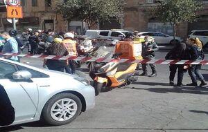 شماری از سربازان اسرائیلی بر اثر حمله یک فلسطینی زخمی شدند