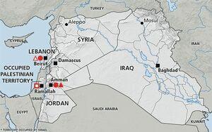 جنجال در اردن بر سر حذف نام «فلسطین» از نقشهای در کتاب درسی جغرافیا