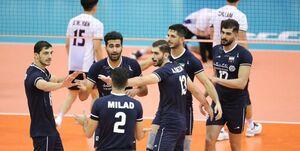 والیبال ایران در مرحله دوم با چه تیمهایی مصاف خواهد داد؟