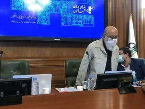 عکس/ چمران در دوازدهمین جلسه شورای شهر تهران