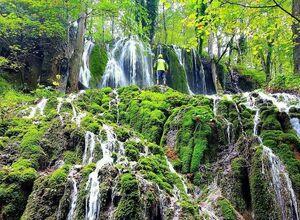 عکس/ آبشار زیبای اوبن را دیدهاید؟