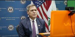 آمریکا نگران نفوذ ایران در عراق است