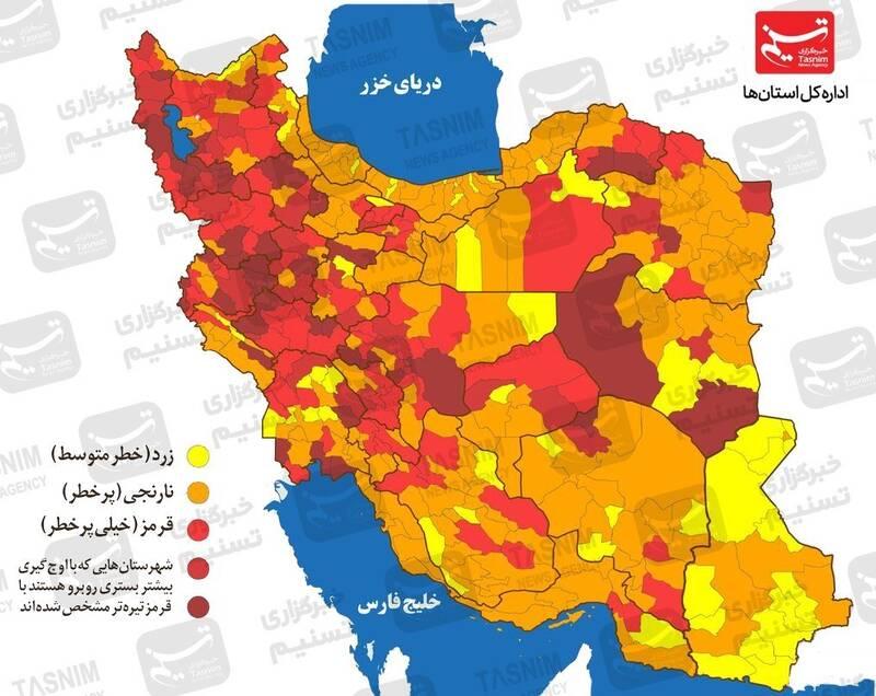 روند واکسیناسیون در کشور سرعت گرفت/ تزریق واکسن دانش آموزان شرط بازگشایی مدارس +نقشه و نمودار